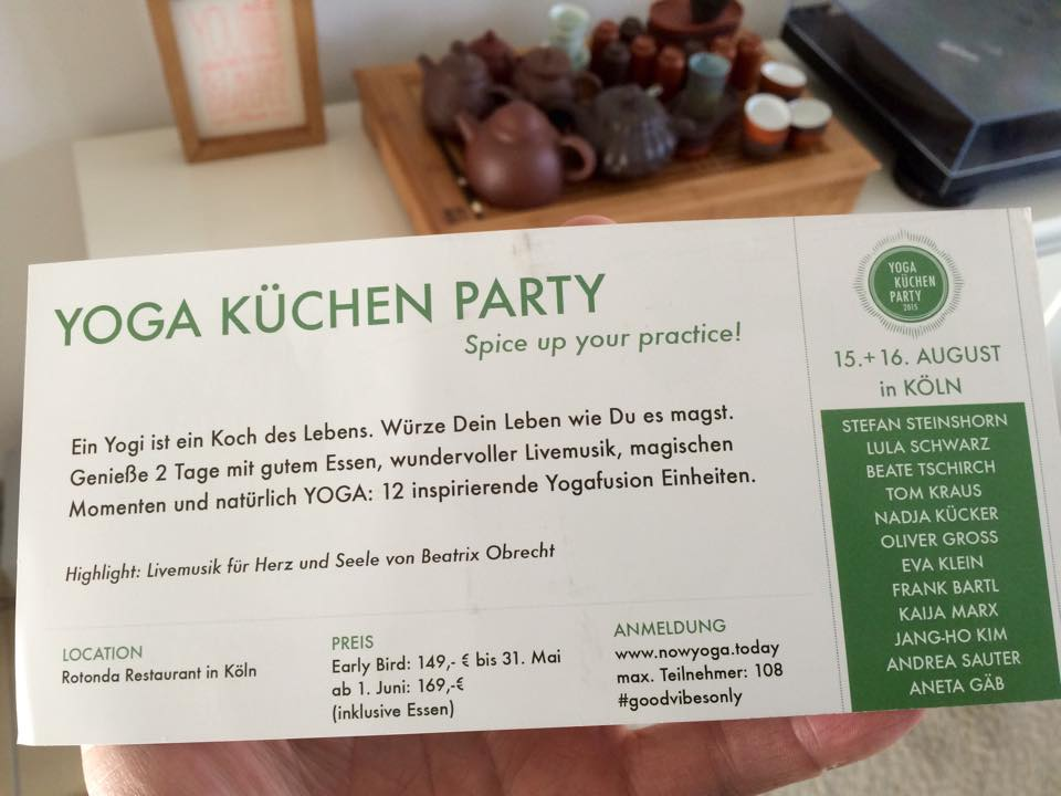 Yoga Kuchen Party Yogamand
